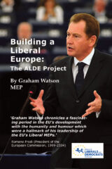 Building a Liberal Europe The ALDE Project Book Cover
