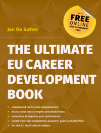 The Ultimate EU Career Development Book by Jan De Sutter book cover