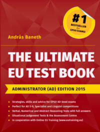 The Ultimate EU Test Book Administrator (AD) Edition 2015 Book Cover