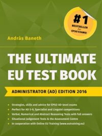 The Ultimate EU Test Book Administrator (AD) Edition 2016 Book Cover