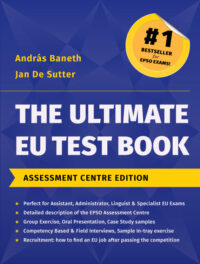 The Ultimate EU Test Book Assessment Centre Edition 2015 Book Cover
