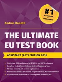 The Ultimate EU Test Book Assistant (AST) Edition 2016 Book Cover