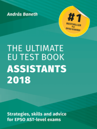 The Ultimate EU Test Book Assistants Edition 2018