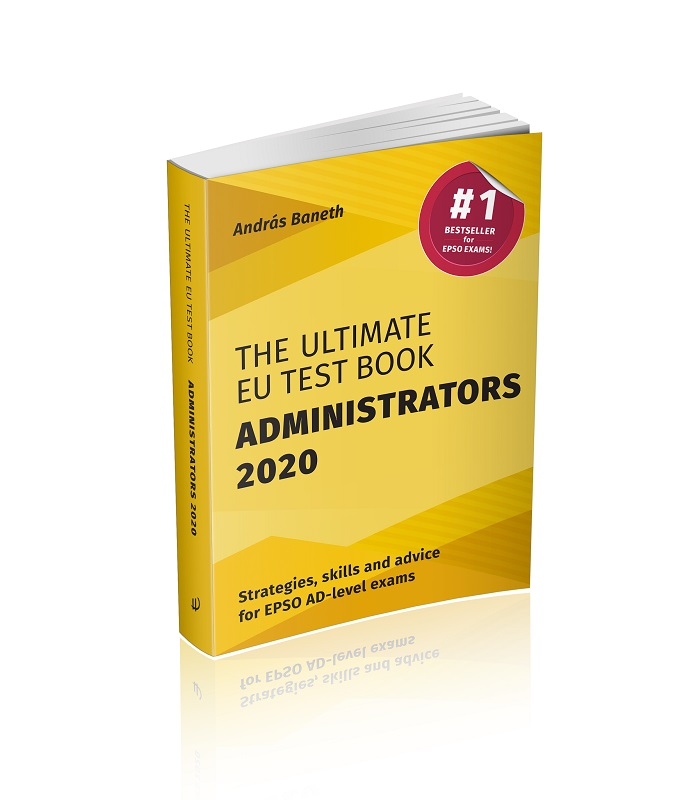 Image of The Ultimate EU Test Book Administrators 2020