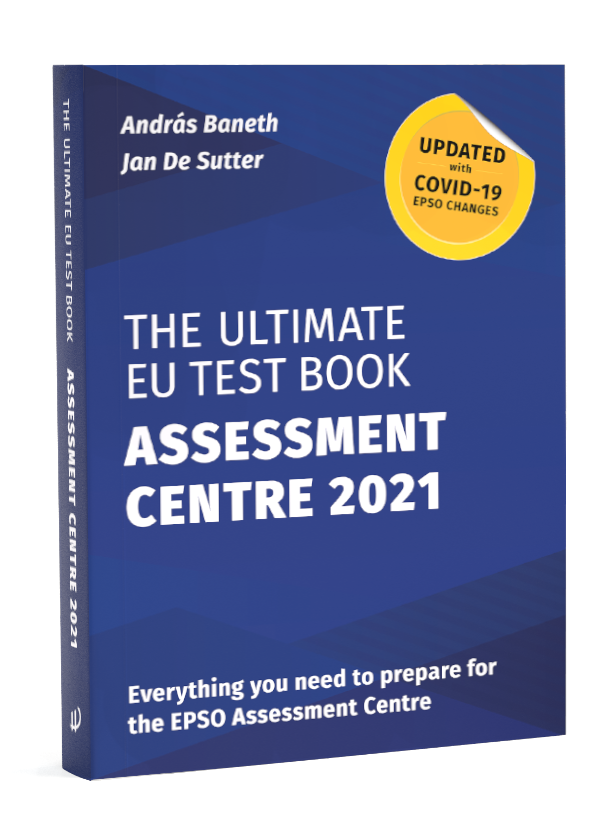 Image of The Ultimate EU Test Book Assessment Centre 2021