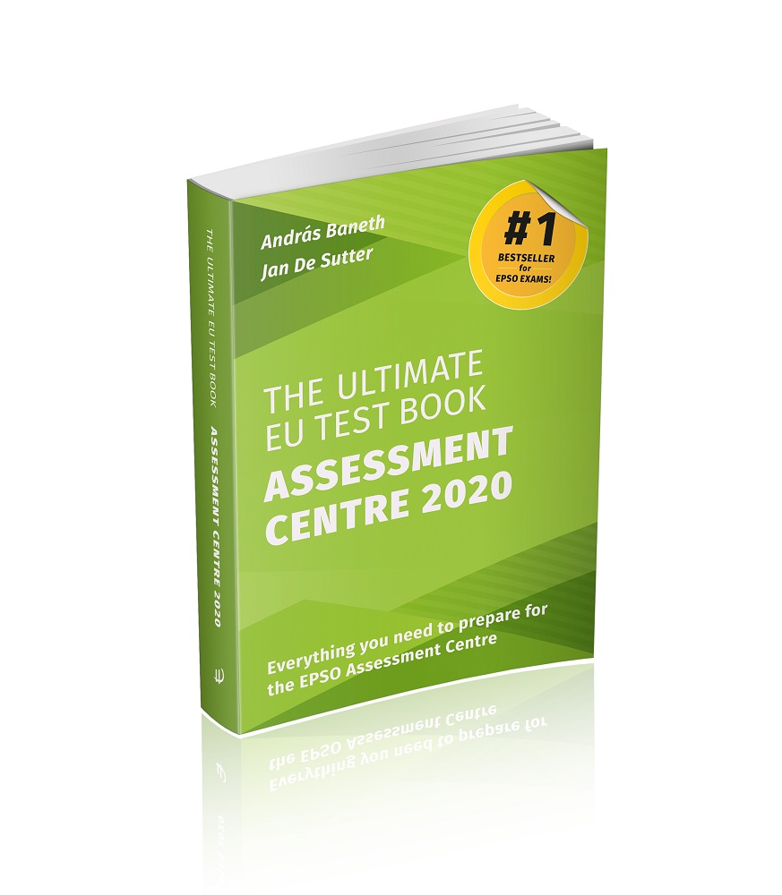 Image of The Ultimate EU Test Book Assessment Centre 2020