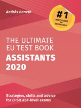 Book cover of The Ultimate EU Test Book Assistants 2020