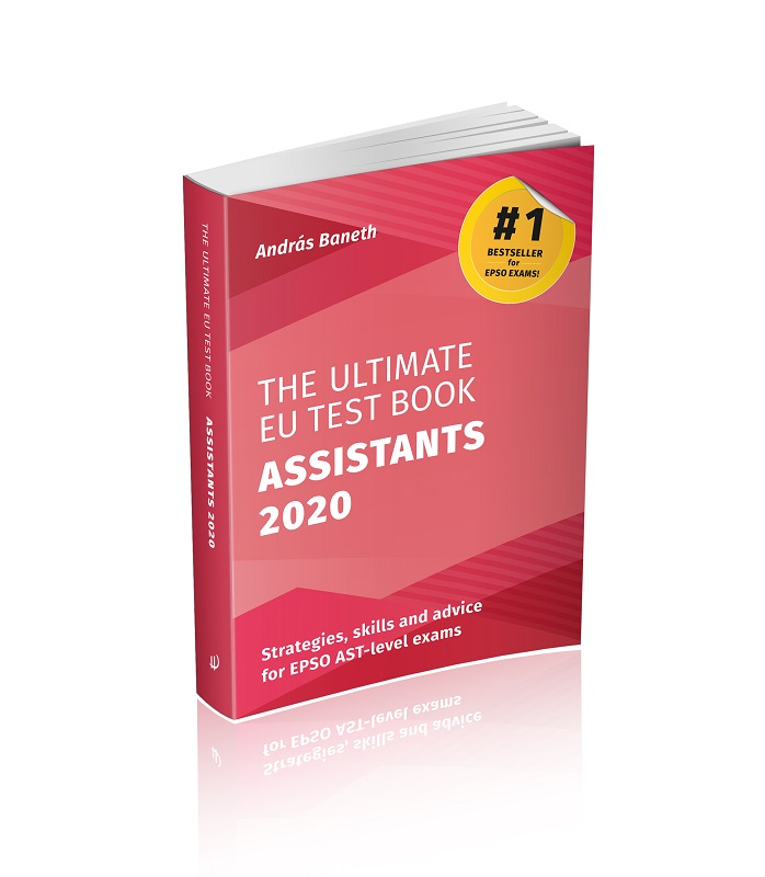 Image of The Ultimate EU Test Book Assistants 2020